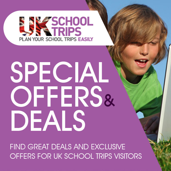 Uk school trip special offers