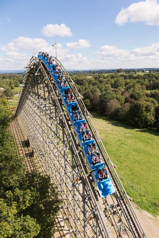 Lightwater Valley Theme Park North Yorkshire - Forth Image