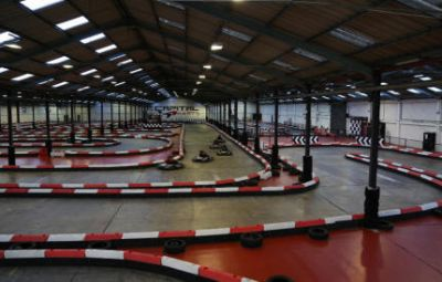 Capital Karts The UKs longest indoor go karting track London - Second Image