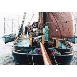 East Coast Sail Trust - sailing barge Thalatta - Main Image