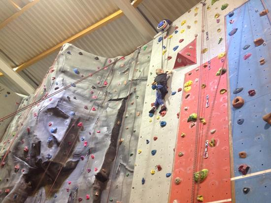 Evesham Leisure Centre Climbing in Worcestershire - Forth Image