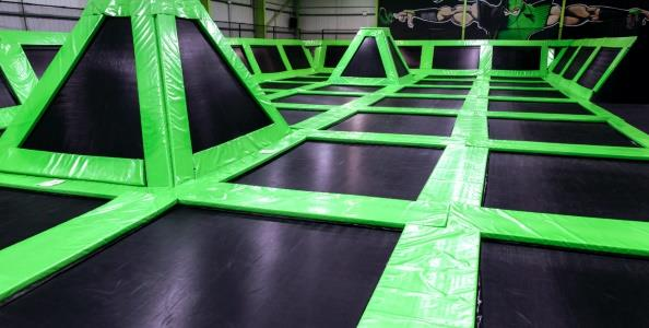 Flip Out Stoke Trampoline Park Staffordshire - Second Image
