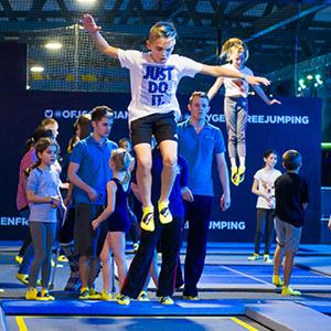 Oxygen Freejumping Trampoline Park Southampton - Second Image