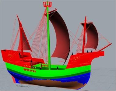The Newport Ship Medieval Ship Project Wales - Forth Image