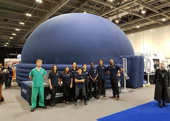Immersive Experiences Mobile Planetarium School Workshops Nationwide - Second Image