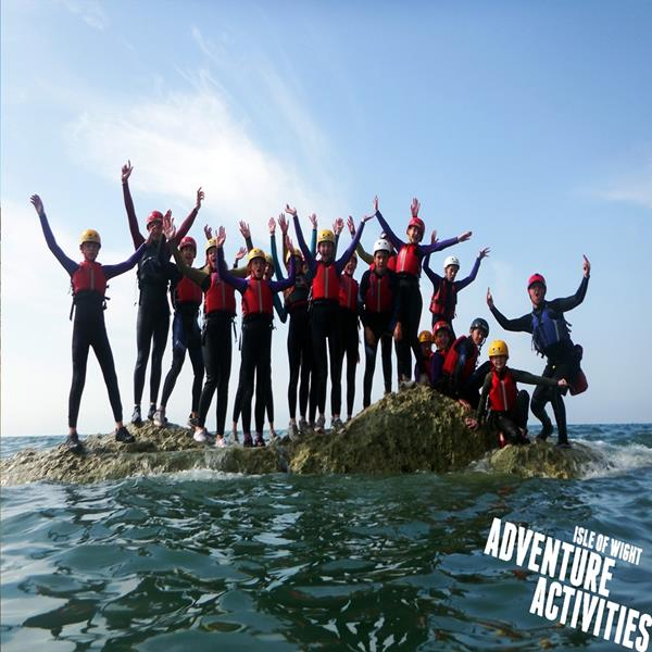Adventure Activities Isle of Wight Day Trips and Residentials - Forth Image