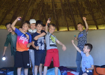 Celtic Harmony Camp Prehistory Residential Experiences - Main Image