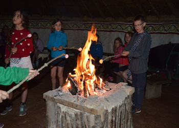 Celtic Harmony Camp Prehistory Residential Experiences - Forth Image