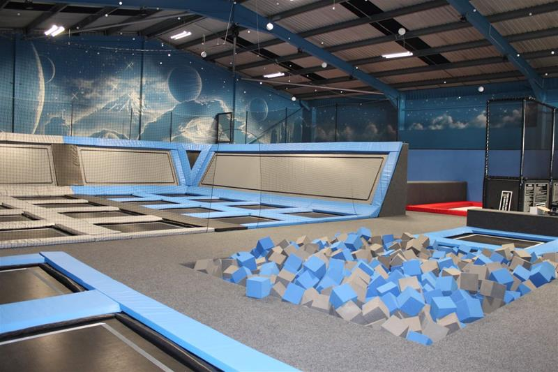 The Jump Works Trampoline Park Accrington - Main Image