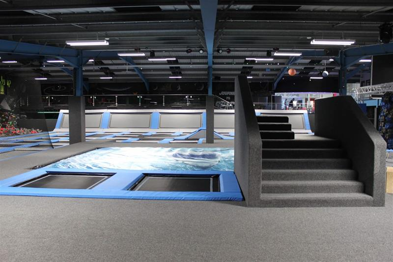 The Jump Works Trampoline Park Accrington - Second Image