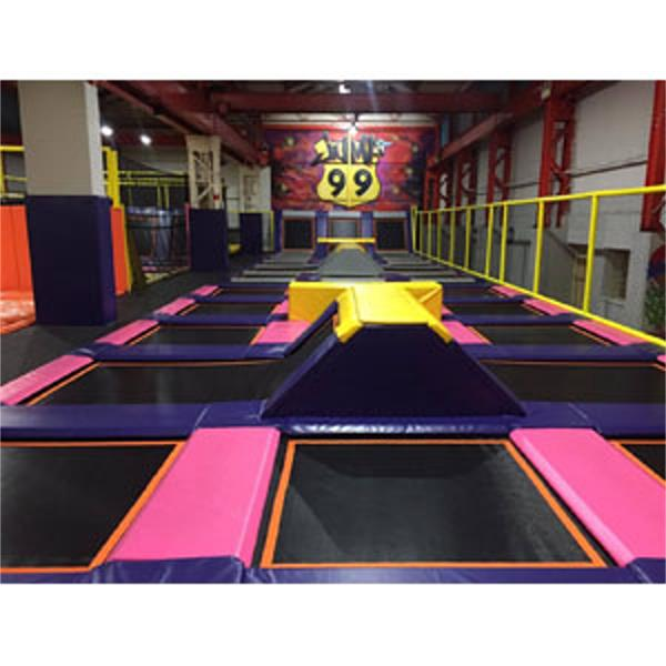 99 Jump Trampoline Park Sheffield South Yorkshire - Forth Image