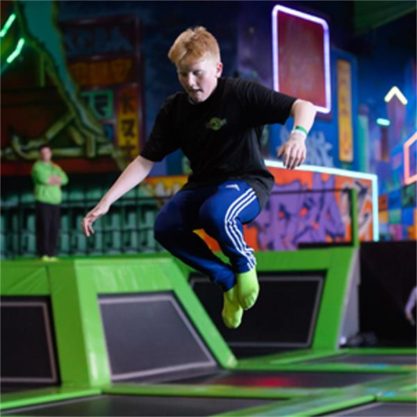 Flip Out Trampoline Park Brent Cross London - Second Image
