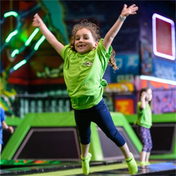 Flip Out Trampoline Park Brent Cross London - Forth Image
