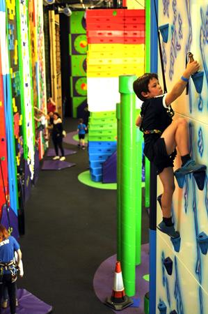 Clip 'n Climb Indoor Climbing Centre Kent - Second Image