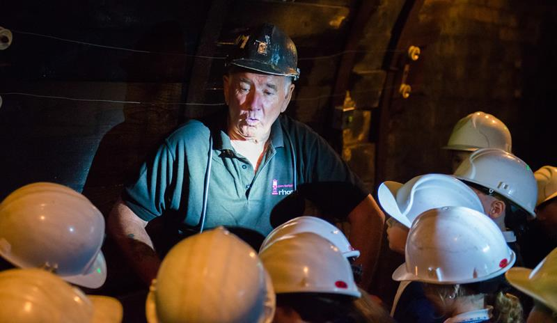 Welsh Mining Experience at Rhondda Heritage Park South Wales - Forth Image