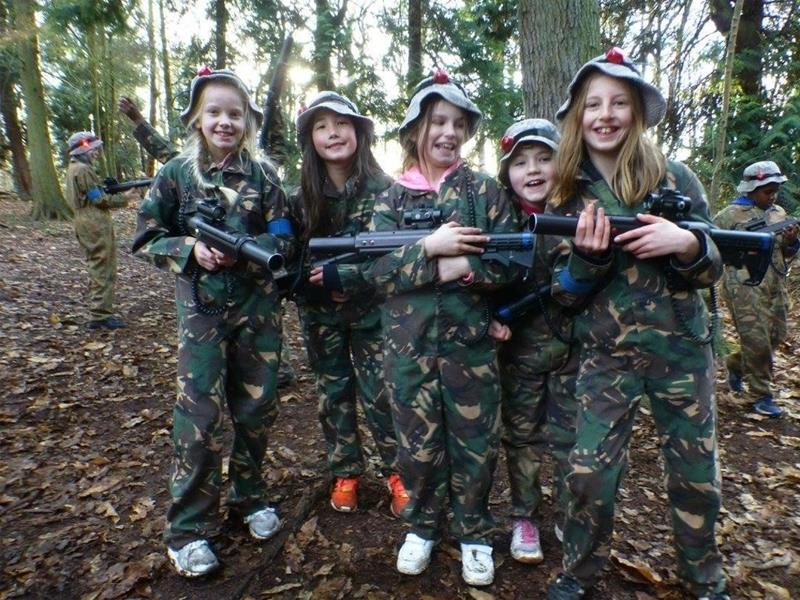 Combat Laser Games Outdoor Laser Tag & Paintball Kent - Second Image