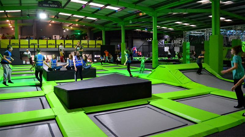 Airea51 Trampoline Arena Telford - Second Image