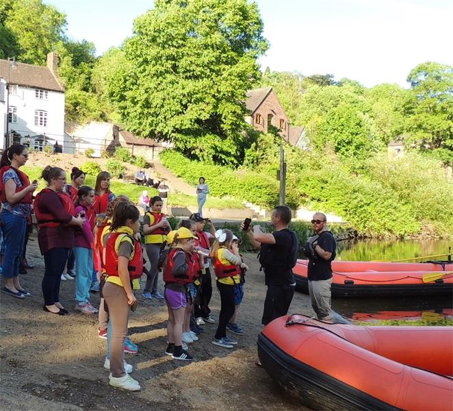 Shropshire Raft Tours Outdoor Education Tours Shropshire - Forth Image
