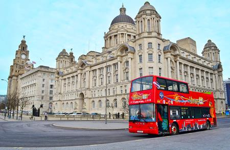 Liverpool City Sights Open Top City & Beatles Tour - Main Image