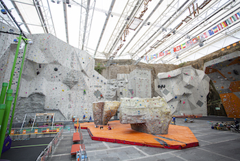 Edinburgh International Climbing Arena Scotland - Forth Image