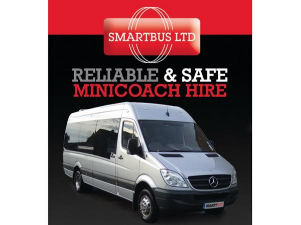 Smart Bus Coach and Mini Bus Hire South East - Second Image