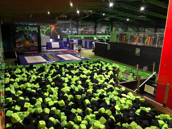 Flip Out Trampoline Park Chichester - Forth Image