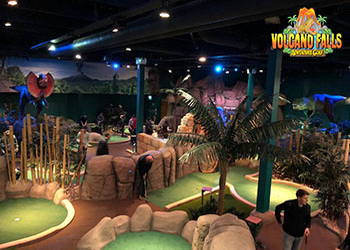 Volcano Falls Adventure Golf Castleford West Yorkshire - Third Image