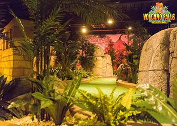 Volcano Falls Adventure Golf Castleford West Yorkshire - Forth Image