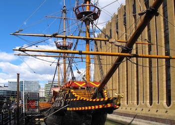 The Golden Hinde School Tours and workshops London - Main Image