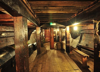 The Golden Hinde School Tours and workshops London - Forth Image