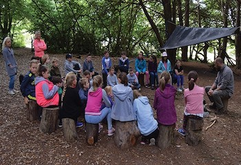 Norman Court Outdoor Education Hub - Second Image