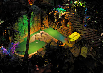 The Lost City Adventure Golf Nottingham - Third Image