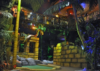 The Lost City Adventure Golf Nottingham - Forth Image