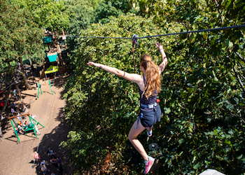 Go Ape Outdoor Adventure Activities High Ropes London - Forth Image