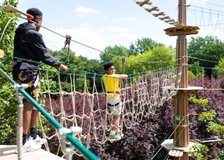Go Ape Outdoor Adventure Activities High Ropes London - Main Image