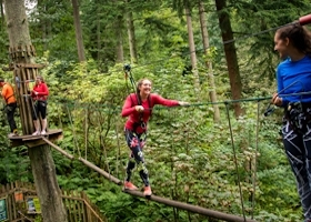 Go Ape Outdoor Adventure Activities High Ropes Wales - Main Image