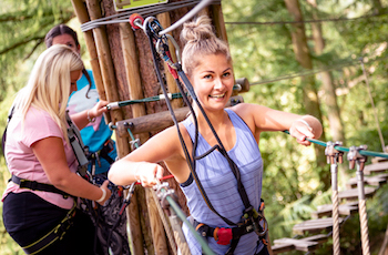 Go Ape Outdoor Adventure Activities High Ropes Yorkshire - Forth Image