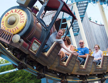 Crealy Theme Park & Resort Residential Trips Devon - Forth Image