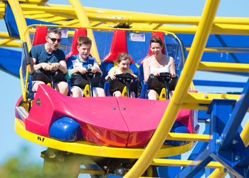 Crealy Theme Park & Resort Residential Trips Devon - Main Image