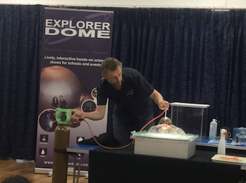 Explorer Dome Hands-On Science Shows - Forth Image