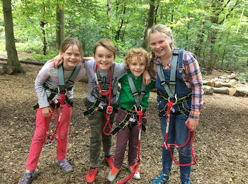 Treetop Trek Manchester: Outdoor Adventure High Ropes - Second Image