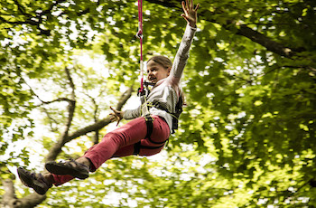 Treetop Trek Manchester: Outdoor Adventure High Ropes - Third Image