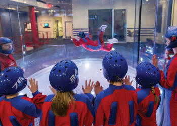 iFLY Indoor Skydiving STEM Workshop Manchester - Third Image