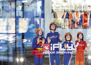 iFLY Indoor Skydiving STEM Workshop Manchester - Main Image