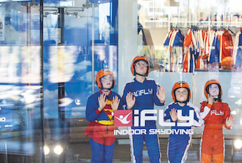 iFLY Indoor Skydiving STEM Workshop Milton Keynes - Second Image