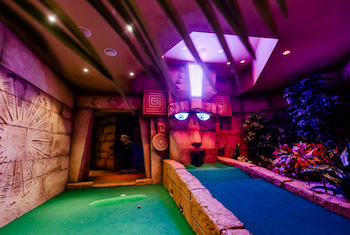 Treetop Adventure Golf Leicester - Main Image