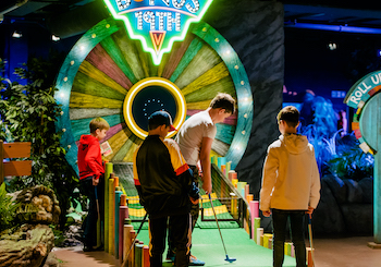 Treetop Adventure Golf Leicester - Second Image