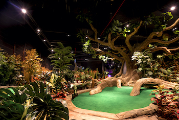 Treetop Adventure Golf Manchester - Second Image