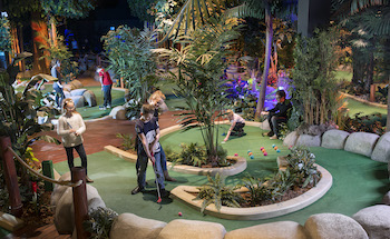 Treetop Adventure Golf Cardiff - Main Image