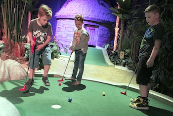 Treetop Adventure Golf Cardiff - Second Image